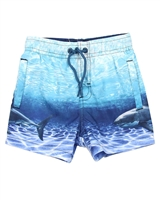 Losan Boys Swim Shorts in Ocean Print