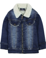 Losan Boys Denim Jacket with Faux Shearling
