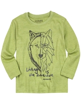 Losan Boys T-shirt with Wolf Print