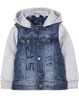 Losan Boys Denim and Terry Combination Jacket