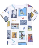 Losan Boys T-shirt with Photo Collage Print