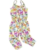 Losan Girls Jumpsuit in Butterfly Print