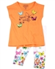 Losan Girls Tunic and Legging Set in Butterfly Print