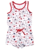 Losan Girls Romper in Star Print