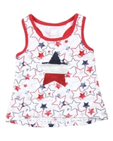 Losan Girls Top with Reversible Sequin Star