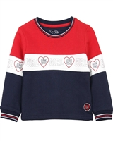 Losan Girls Colour-block Sporty Sweatshirt