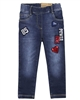 Losan Girls Jogg Jeans with Badges