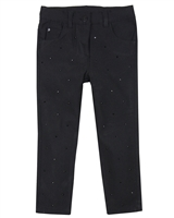 Losan Girls Twill Pants with Crystals