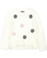 Losan Girls Shag Knit Sweater