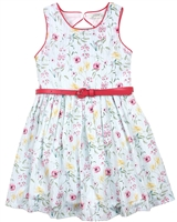 Losan Girls Dress in Floral Print