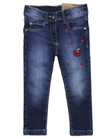 Losan Girls Jogg Jeans with Ladybugs