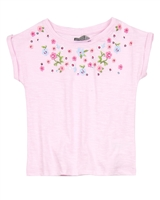 Losan Girls T-shirt with Embroidery