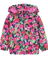 Losan Girls Windbreaker in Tropical Print