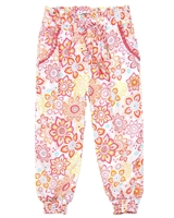 Losan Girls Summer Pants in Ethnic Print