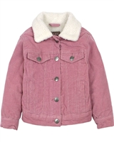 Losan Girls Corduroy Jacket with Faux Shearling Inside