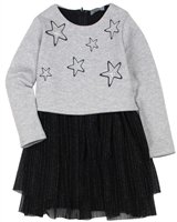 Losan Girls Two-in-one Look Dress and Tights