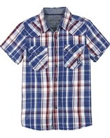 Losan Junior Boys Plaid Shirt