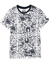 Losan Junior Boys T-shirt in All-over Print