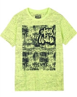 Losan Junior Boys T-shirt in Distressed Dot Print
