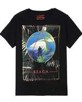 Losan Junior Boys T-shirt with Surfing Print