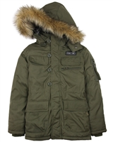 Losan Junior Boys Hooded Parka Coat