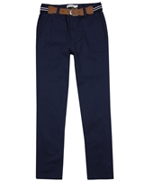Losan Junior Boys Dress Chino Pants with Belt