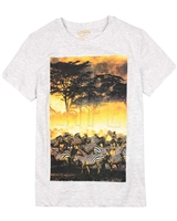 Losan Junior Boys T-shirt with Safari Print