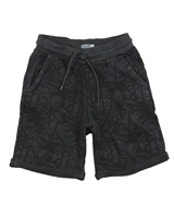 Losan Junior Boys Terry Shorts in Subtle Tropical Print