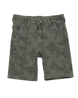Losan Junior Boys Jogg Jean Short in Safari Print