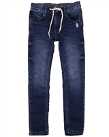 Losan Junior Boys Slim Fit Jogg Jeans in Dark Blue