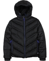 Losan Junior Boys Quilted Jacket with Hood