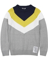 Losan Junior Boys Pullover with Diagonal Stripes