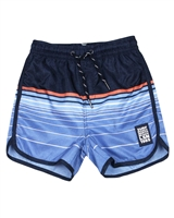 Losan Junior Boys Striped Swim Shorts
