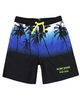 Losan Junior Boys Swim Shorts in Palms Print