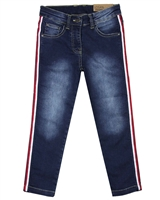Losan Junior Girls Jogg Jeans with Side tripes