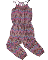 Losan Junior Girls Jumpsuit in Geometric Print