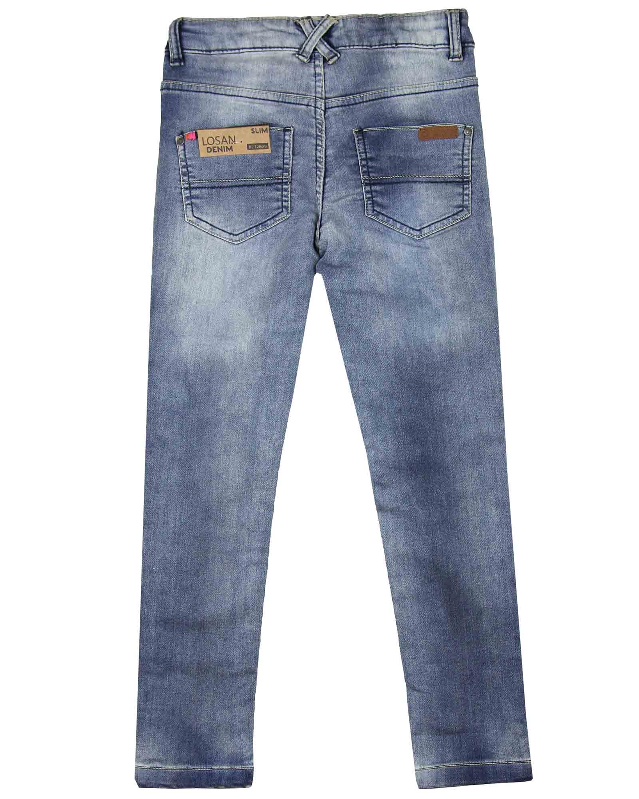 Losan Junior Girls Jogg Jeans with Badges Sizes 8-16