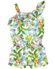Losan Junior Girls Romper in Hawaiian Print
