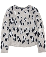 Losan Junior Girls Shag Knit Pullover