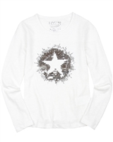 Losan Junior Girls T-shirt with Sequin Star Applique