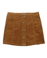 Losan Junior Girls Corduroy Mini Skirt