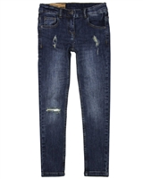 Losan Junior Girls Denim Pants in Distressed Look