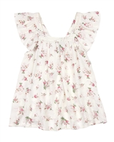 Losan Junior Girls Flounce Bambula Blouse,