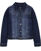 Losan Junior Girls Classic Dark Blue Denim Jacket