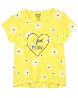 Losan Junior Girls T-shirt in Daisy Print