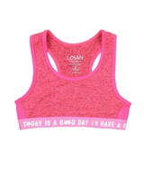 Losan Junior Girls Cropped Sport Top