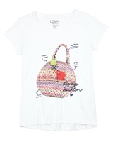Losan Junior Girls Boho Style T-shirt,