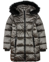 Losan Junior Girls Long Quilted Coat