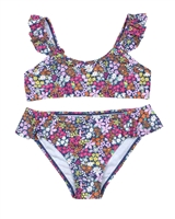 Losan Junior Girls Bikini in Small Floral Print
