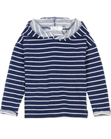 Miles Baby Boys Striped Hooded Sweater